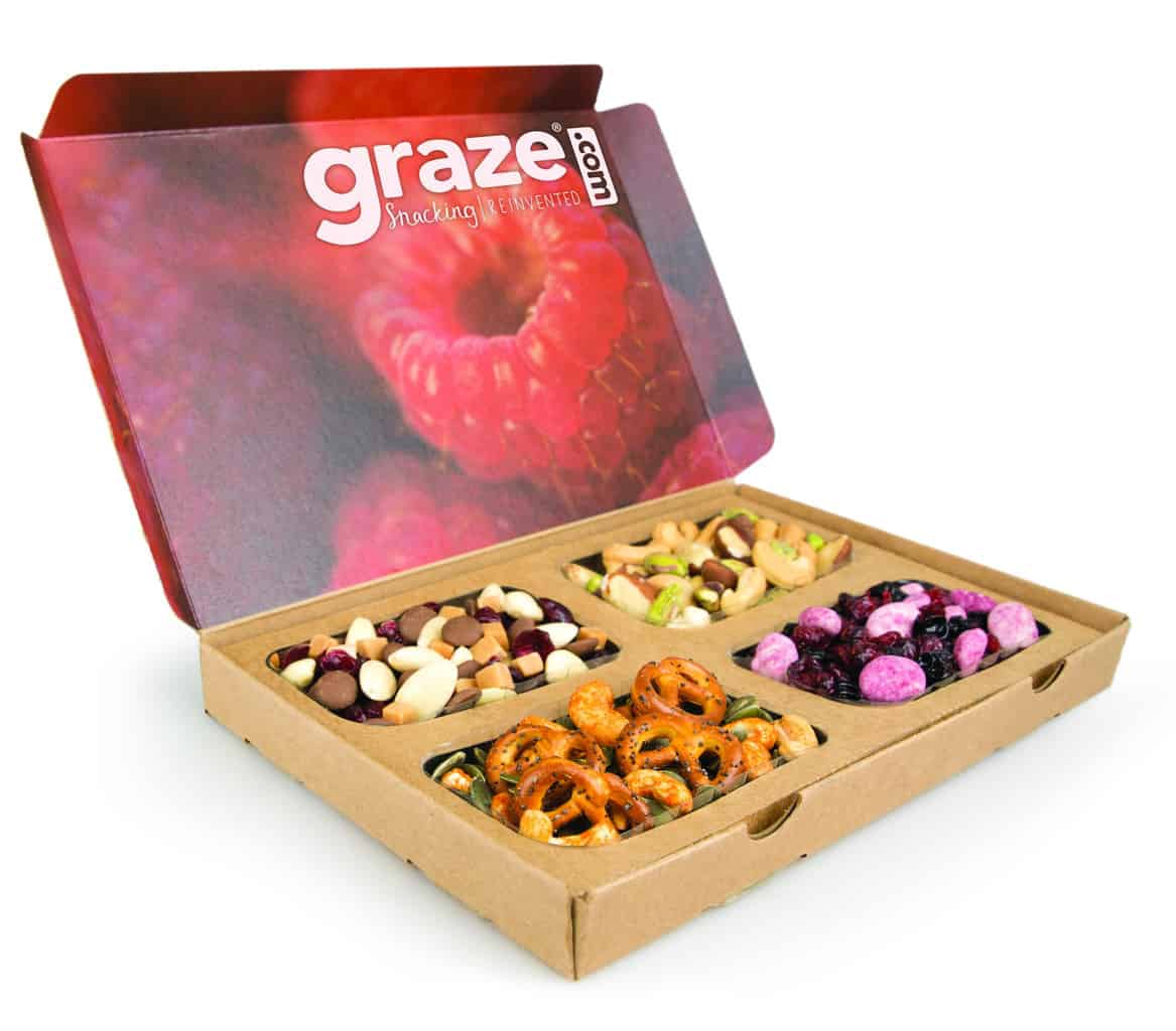 What is it? The perfect snack box when you just need a break man!BREAKbox contains afternoon treats like fruit bliss figs and sweet & salty cashews, all GMO-free and with plenty of gluten-free options.. Price: Starts at $20/box Who will love it? Those who find their afternoon lull dragging them down will enjoy this happy pick me up!