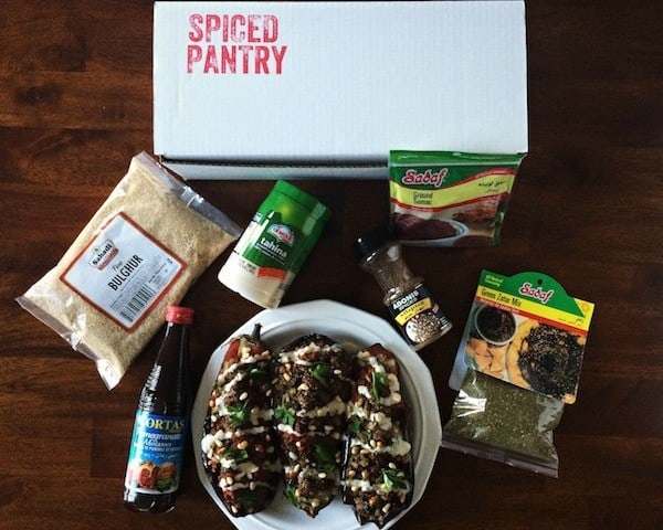 spiced pantry box