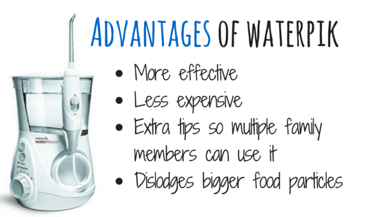 advantages of waterpik