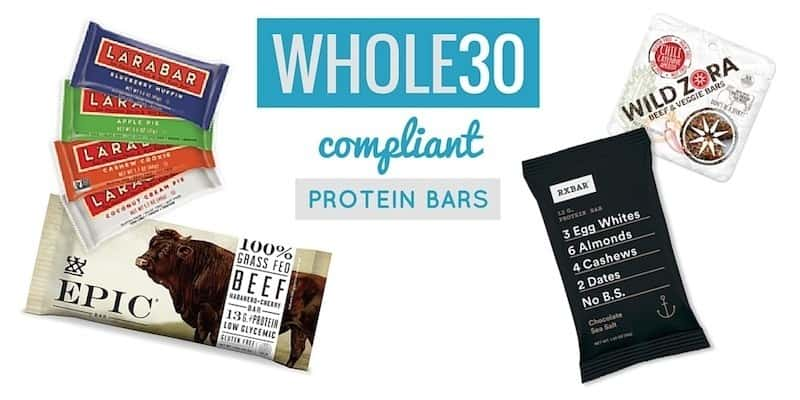 Whole30 bars 6 approved protein bars for whole30