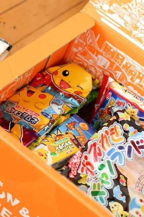 japanese sweet box