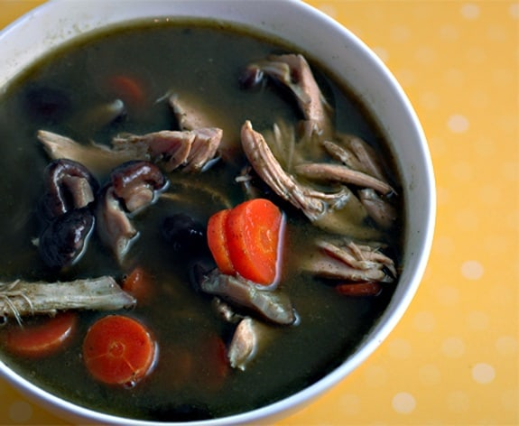 whole30 green chicken soup