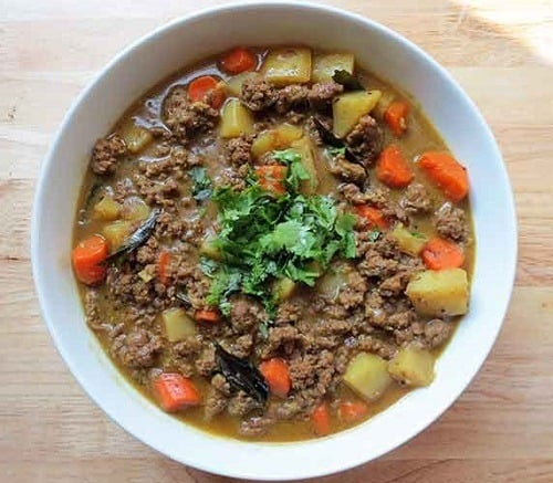 Ground Beef Coconut Curry