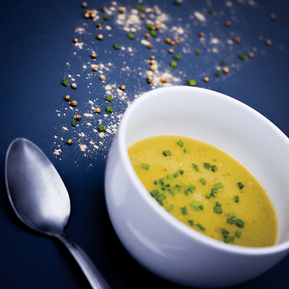 gingered zucchini soup