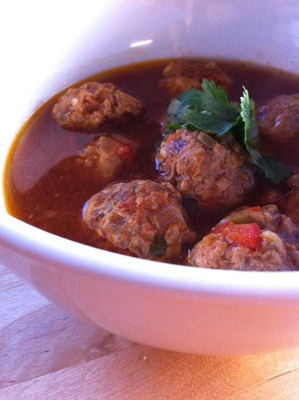 whole30 meatball soup