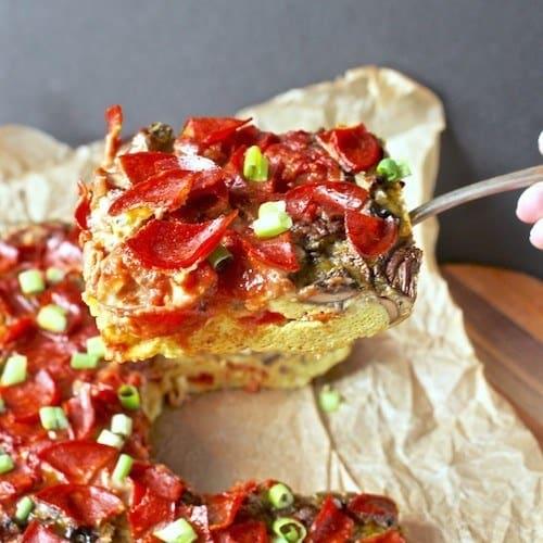 Low Carb Cauliflower Recipes Pizza Crusts