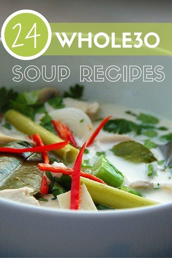 whole30 soup recipes