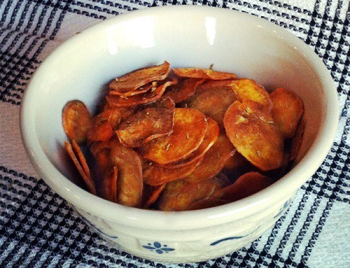 Rosemary and Sea Salt Potato Chips