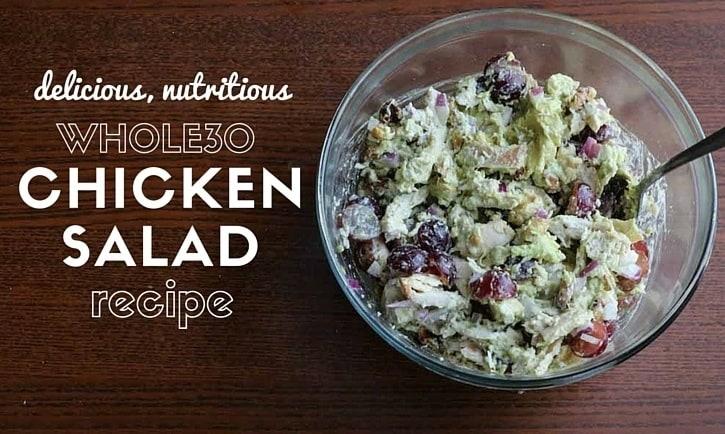 whole30 chicken salad recipe