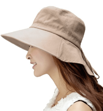 womens foldable sun hat