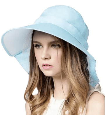 womens wide sun hat