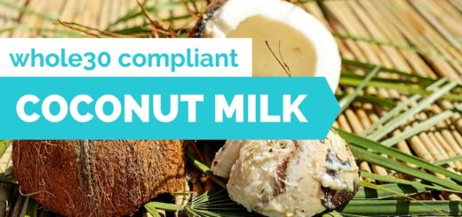 whole30 coconut milk