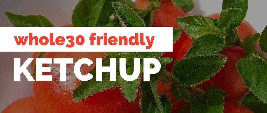 whole30 ketchup