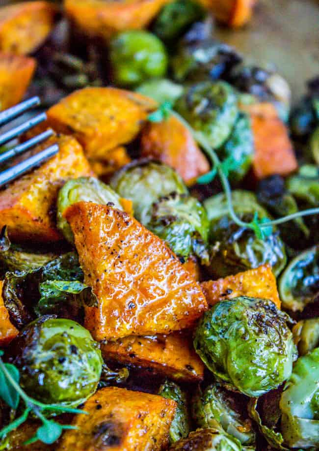Brussels sprouts whole30 potato recipe