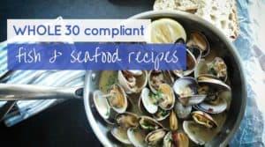 whole30 fish recipes