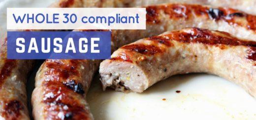 whole30 sausage