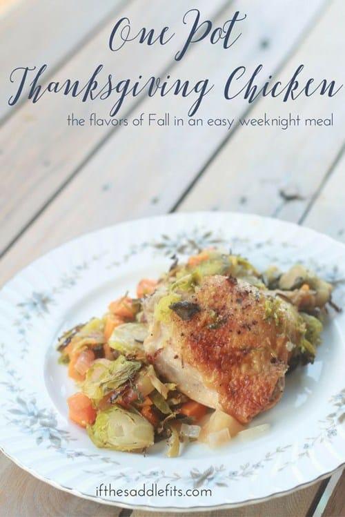 One Pot Thanksgiving Chicken