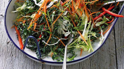 coleslaw-whole30-kale