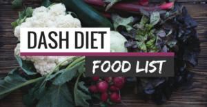 dash diet food list