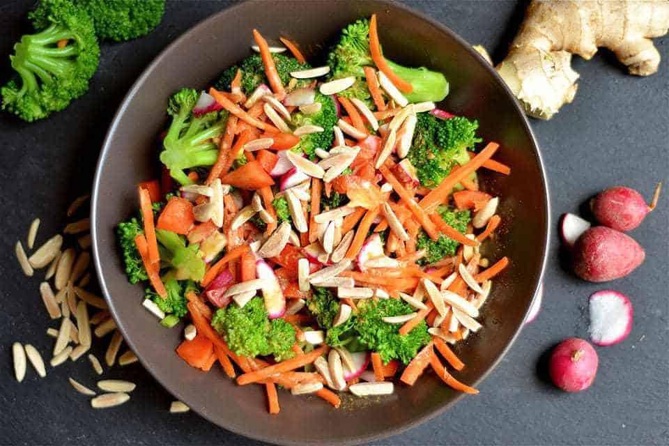 Whole 30 Asian Broccoli Salad