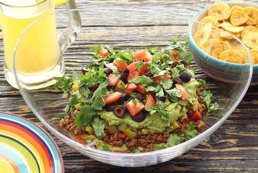 Whole 30 Mexican Layered Dip