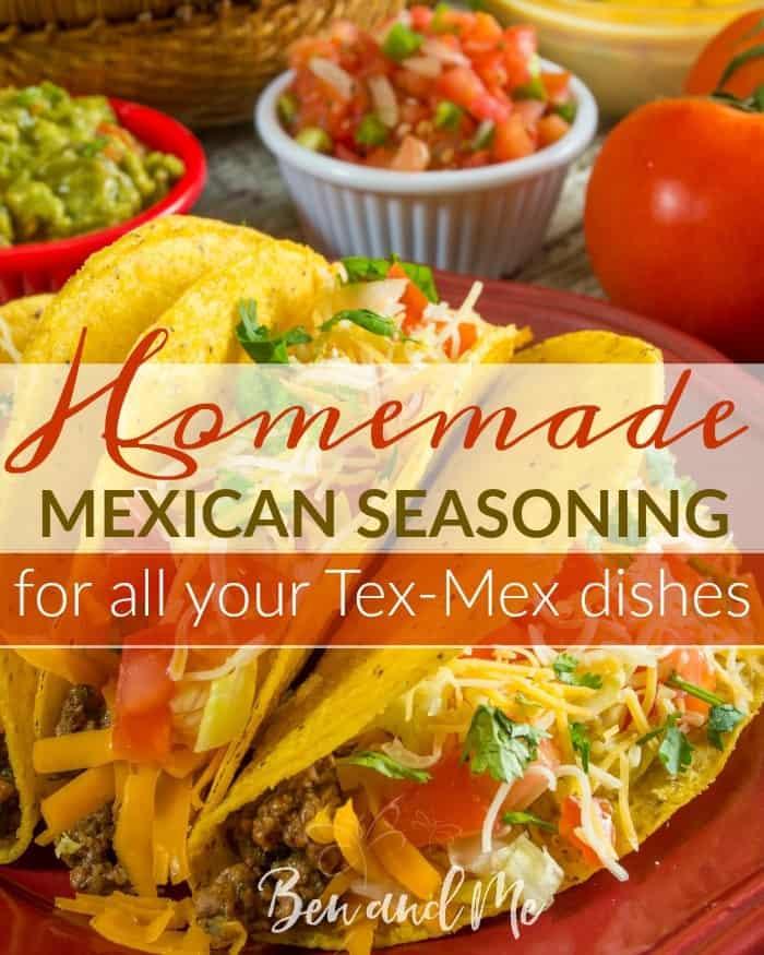 Homemade Whole 30 Mexican Seasoning