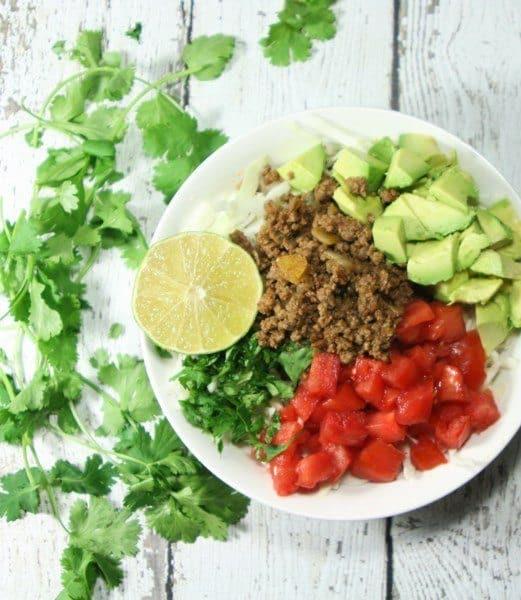 Whole 30 Mexican Taco Salad