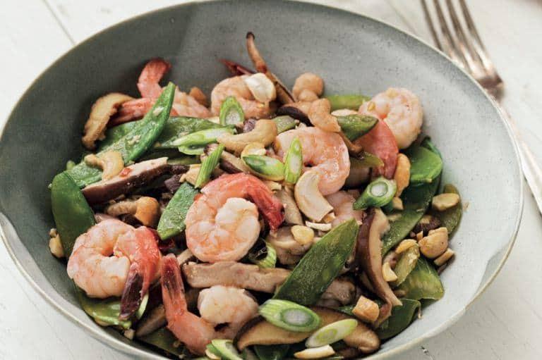 Whole 30 Shrimp Stir Fry