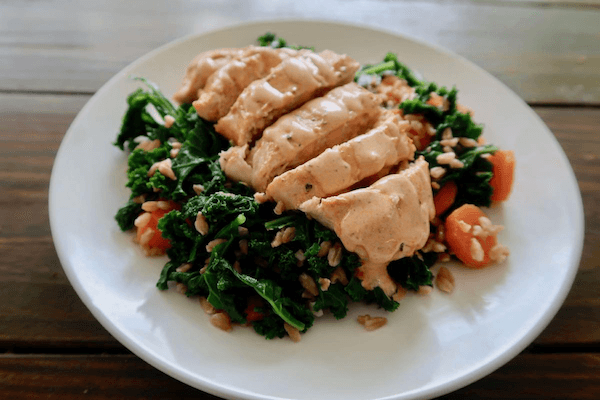 Mediterranean Diet Baked Chicken