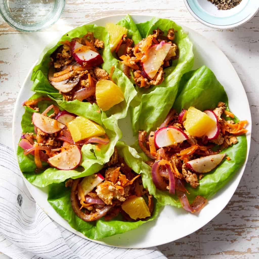 Toragashi Chicken Lettuce Recipe