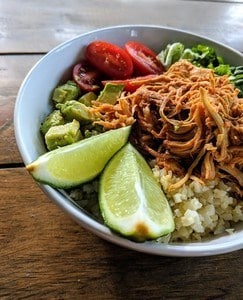 keto chipotle bowl
