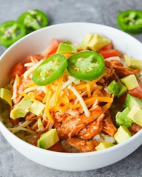 keto-chicken-enchilada-bowl
