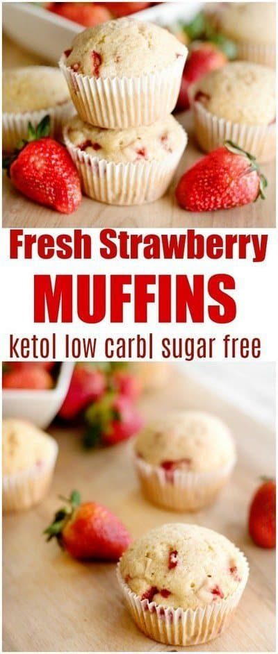 keto-strawberry-muffins