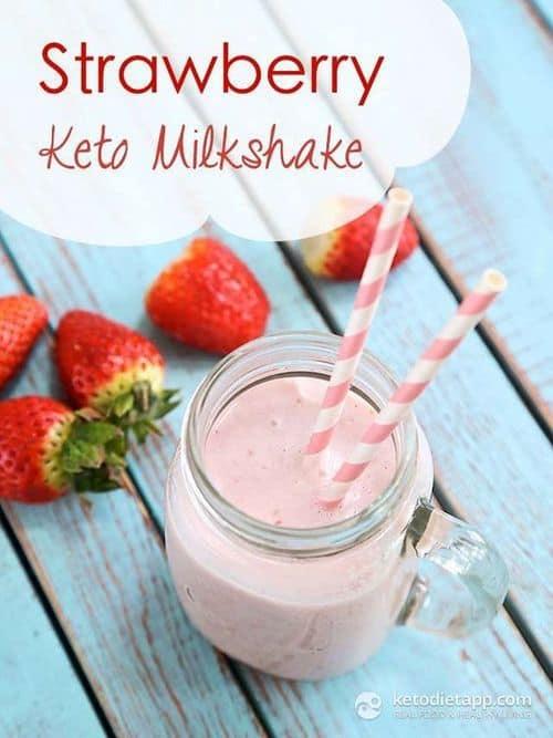 strawberry-keto-milkshake