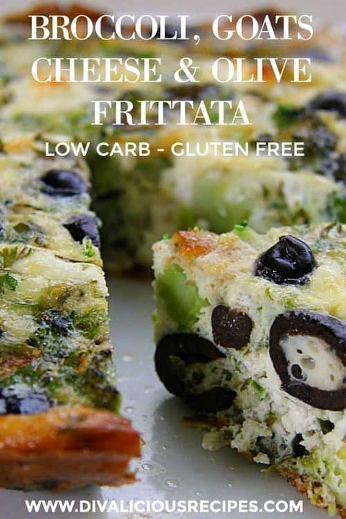 broccoli-olive-goats-cheese-frittata