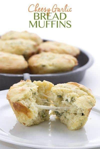 low-carb-cheesy-garlic-bread-muffins