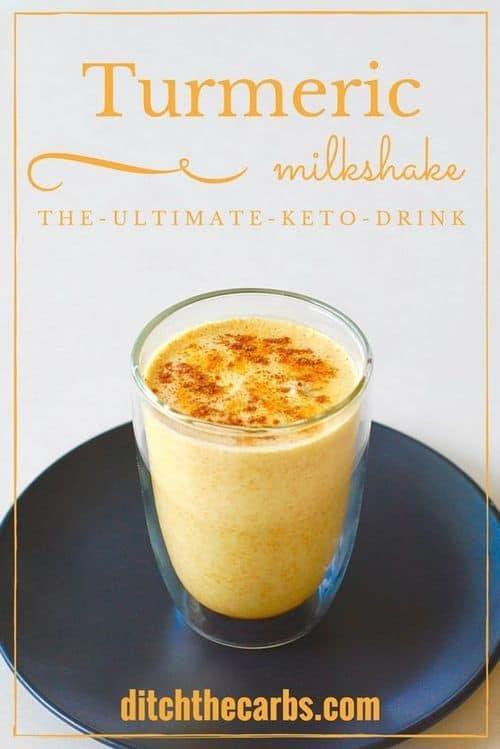 keto-turmeric-milkshake