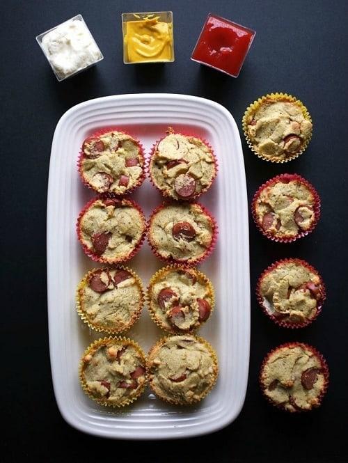 Keto-Corn-Dog-Muffins