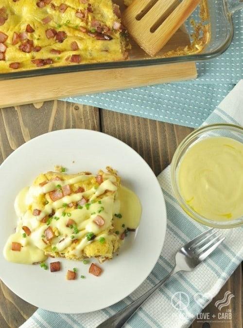 Keto-Eggs-Benedict-Casserole