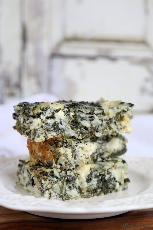 Keto-Spanakopita-Cottage-Cheese-Casserole