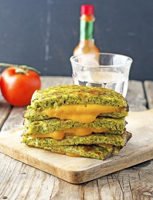 Keto-Zucchini-Crust-Grilled-Cheese