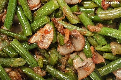 Whole30-Sauteed-Green-Beans-and-Mushrooms