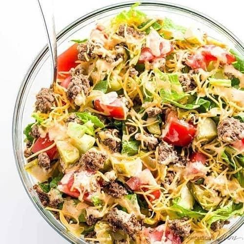 keto-big-mac-salad-low-carb