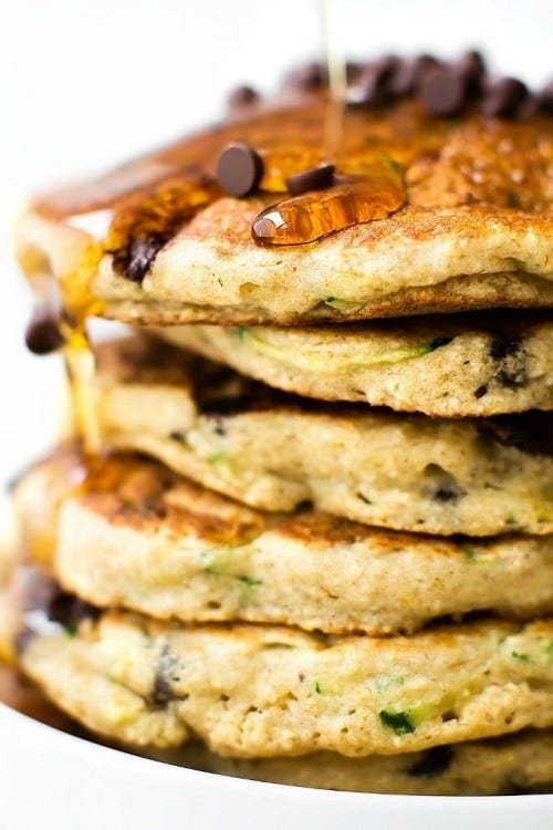keto-fluffy-flourless-zucchini-bread-pancakes