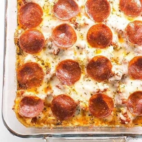 keto-low-carb-pizza-casserole