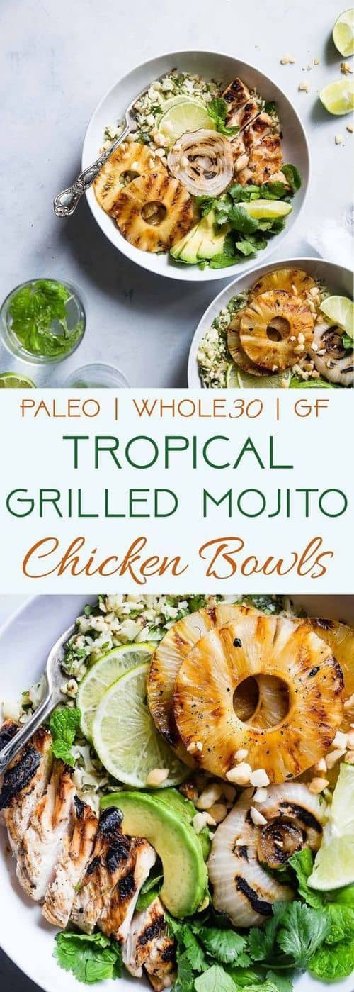 tropical-grilled-mojito-chicken-bowls