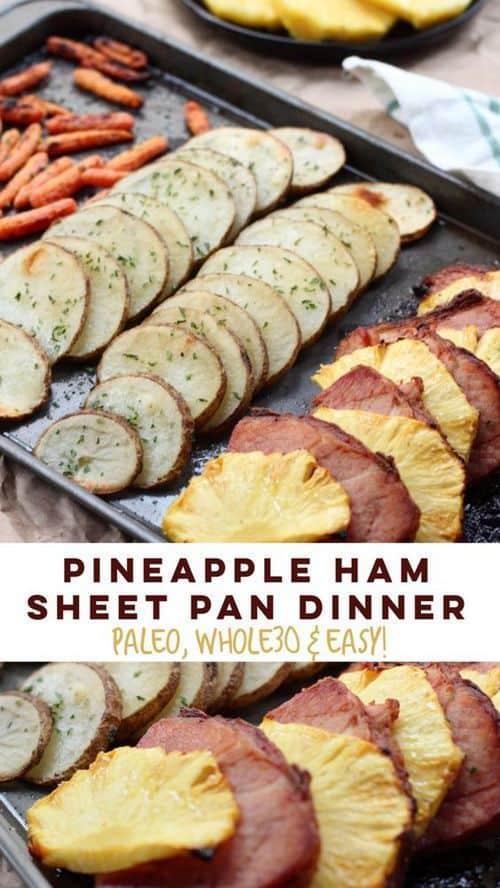 whole30-pineapple-ham-sheet-pan