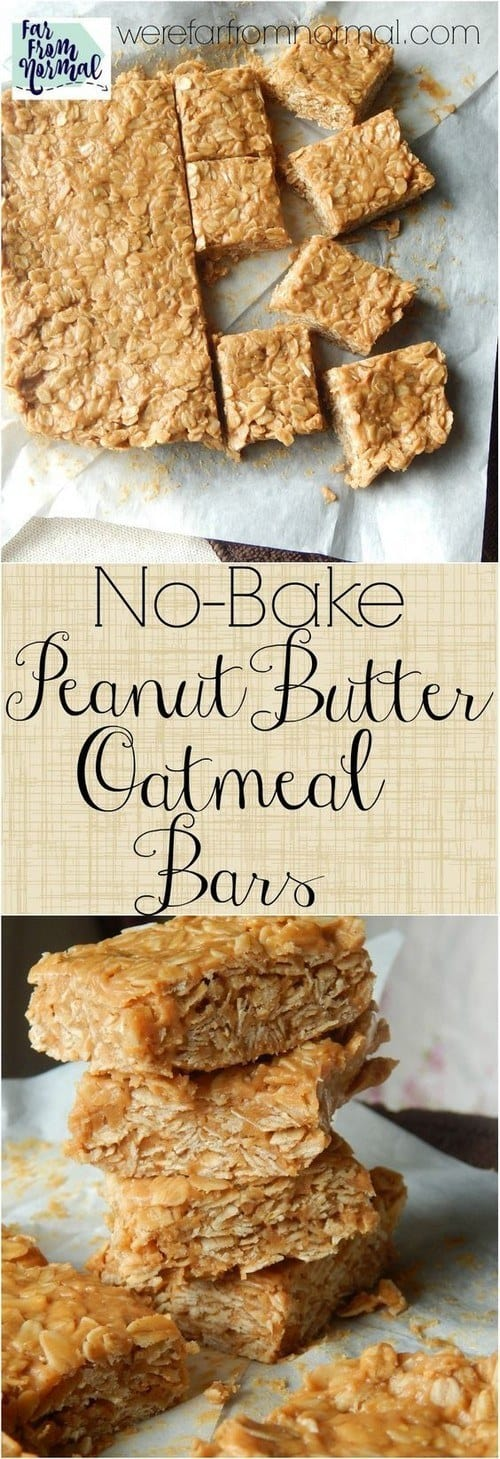 no-bake-peanut-butter-oatmeal-bars