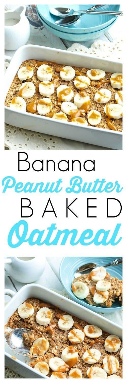 baked-banana-peanut-butter-oatmeal