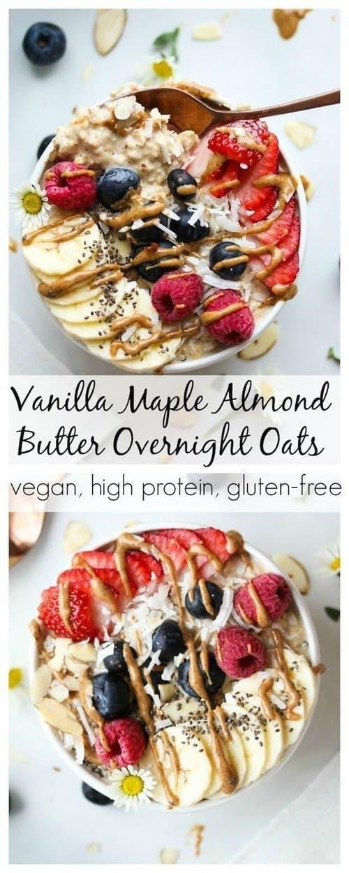 vanilla-maple-almond-butter-overnight-oats